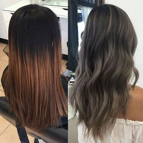box hair color hair still gray ash grey transformation started with 6 quot regrowth and an