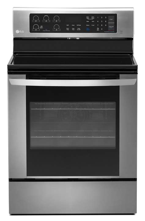 Lg Microwave Oven Convection lg stainless steel electric convection range 6 3 cu ft