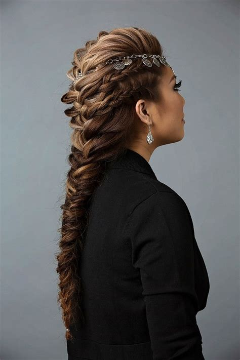 mohawk hairstyles ll eaving hair long at back of head most trendy classic prom hairstyles of long hairs french