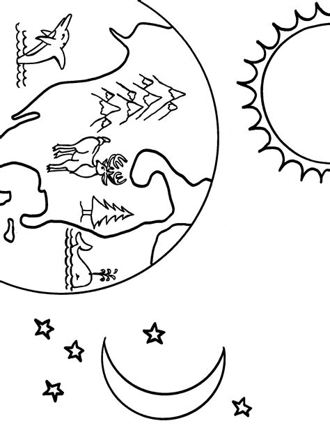 heaven coloring page coloring home