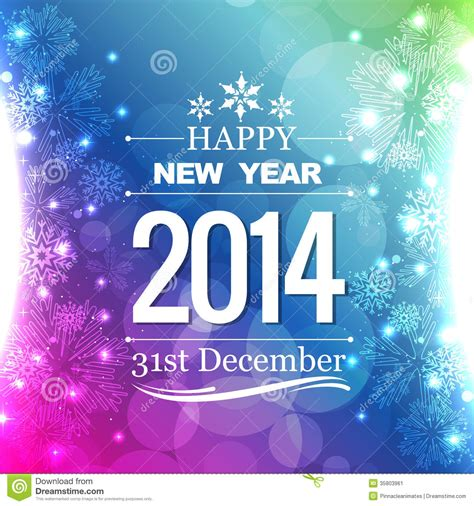 new year flyer design new year flyer stock vector image of effect greeting