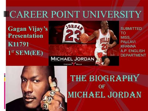 does michael jordan have a biography michael jordan biography ultimate ppt