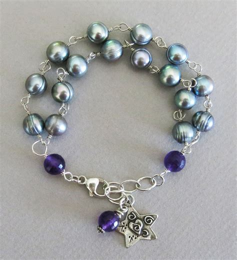 How To Make Handcrafted Jewelry - handmade pearl bracelet handmade jewelry