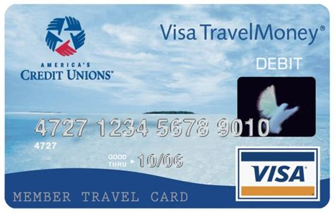Visa Travel Gift Card - visa cu money card omaha federal credit union