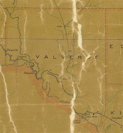 val verde county texas map shumla texas