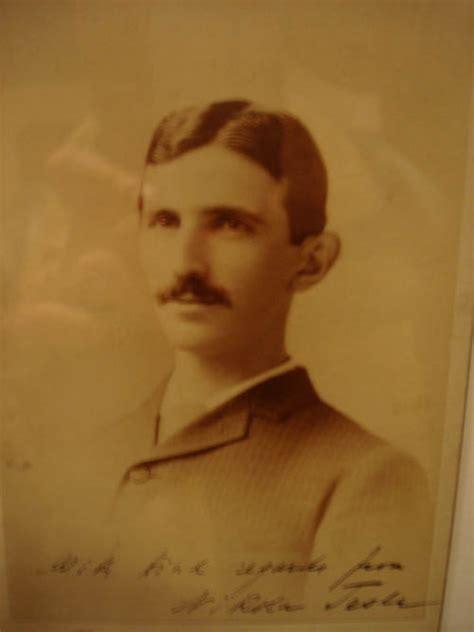 Biography Nikola Tesla Smithsonian Institution Museum In Washington D C Pays