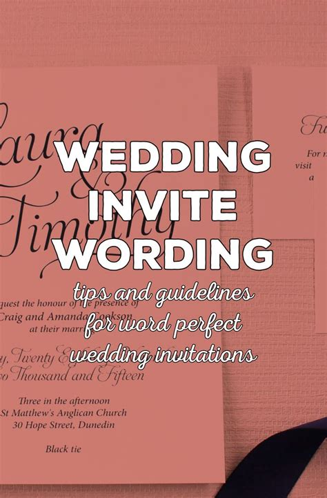 wedding invitation design rules 1000 images about wording wedding invitations on