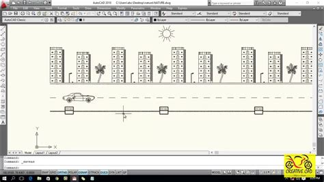 tutorial autocad step by step autocad nature animation step by step tutorial part 2