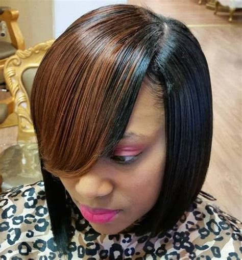Weave Hairstyles With Side Bangs by 30 Weave Hairstyles To Make Heads Turn