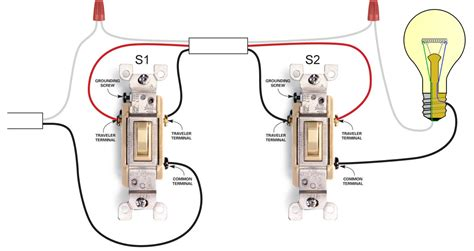 3 way light switch wiring diagram electrical
