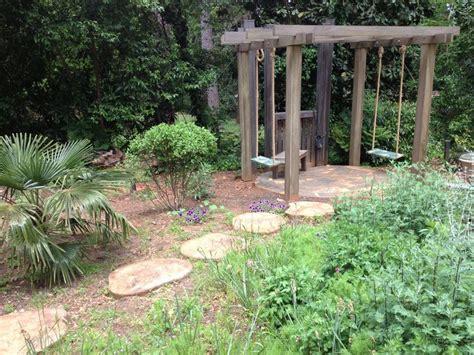 garden swing sets swingset garden