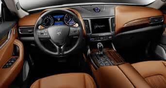 Maserati Interior 2017 Maserati Levante Consumer Reports