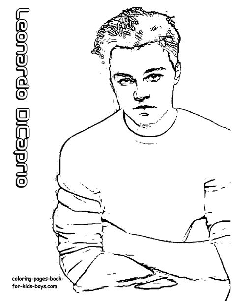 hollywood coloring page hollywood dicaprio kutcher