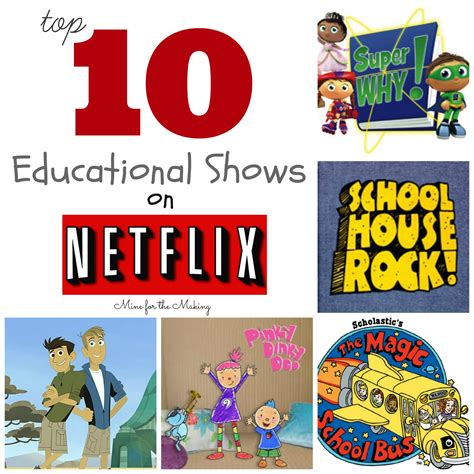 10 Best Shows by Tot School Tuesday Top 10 Educational Shows On Netflix