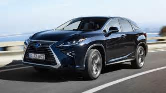 drive the new lexus rx450h top gear