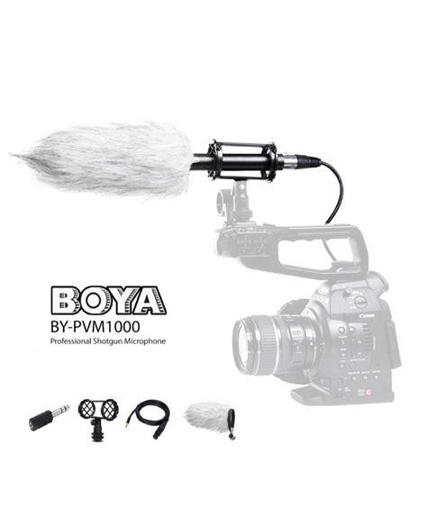 Microphone Boya By Pvm1000 boya by pvm1000 professional shotgun microphone