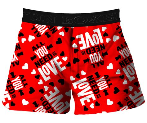 valentines day boxer briefs boxer all you need is valentines day boxer