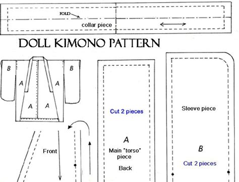 free pattern kimono free kimono pattern for doll free 18 quot doll patterns