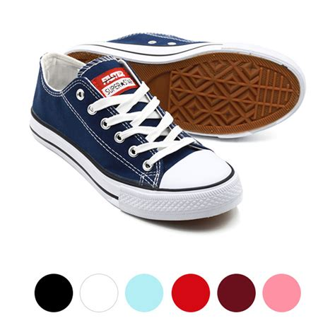 Abcd Tokoku Sepatu Slip On Hitam Maroon Sepatu Unisex Sepatu faster sepatu sneakers casual kanvas wanita 1603 03 4 warna hitam navy putih maroon 36 40