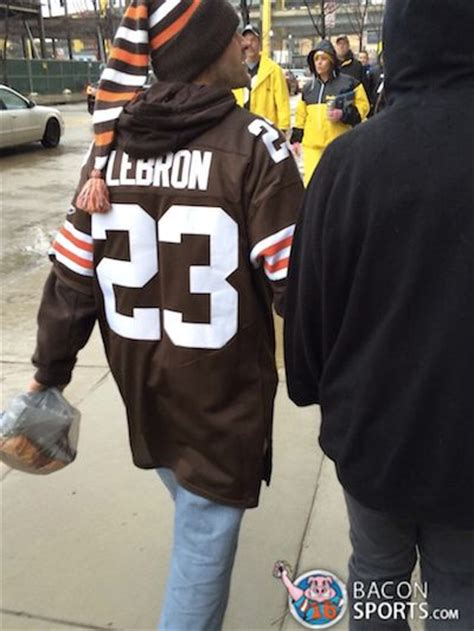 lebron james fan shop cleveland browns fan hurts so good with this lebron james
