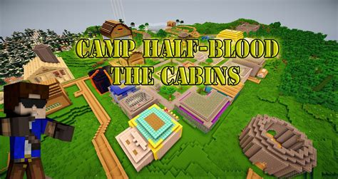 c half blood map minecraft c half blood part 1 the cabins