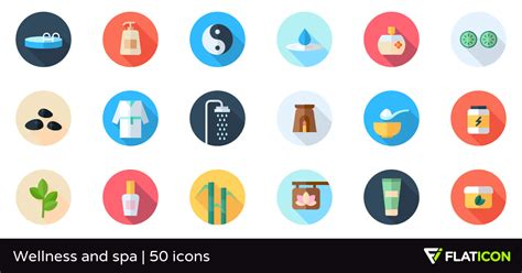 Where Can I Use My Spa And Wellness Gift Card - wellness and spa 50 free icons svg eps psd png files