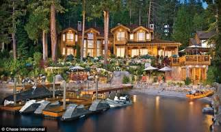 lake in the homes for larry ellison oracle ceo puts lake tahoe home on the