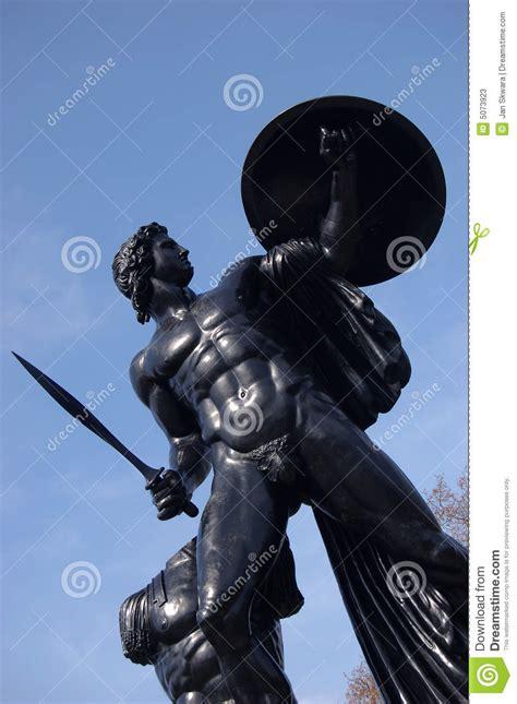 apollo statue  hyde park stock  image