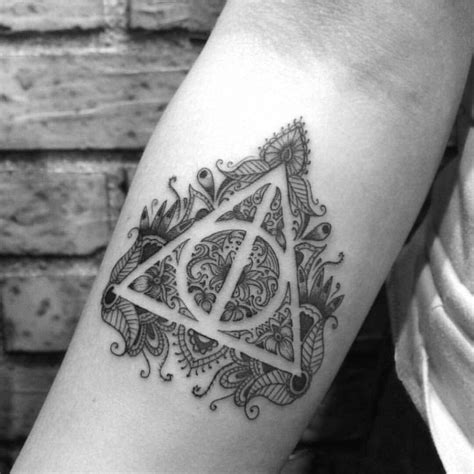 deathly hallows tattoo www pixshark com images