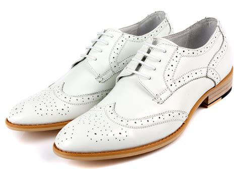 mens white dress boots mens white dress shoes oasis fashion