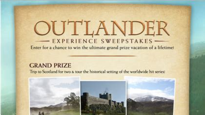 Sony Pictures Sweepstakes - sony outlander experience sweepstakes sun sweeps