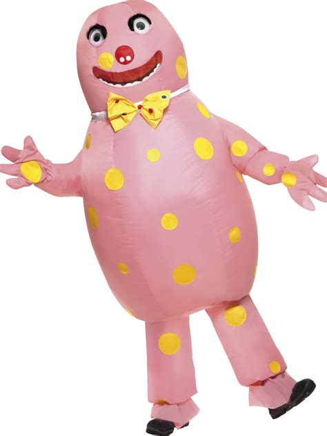adult bounce house adult inflatable mr blobby costume 38054 fancy dress ball