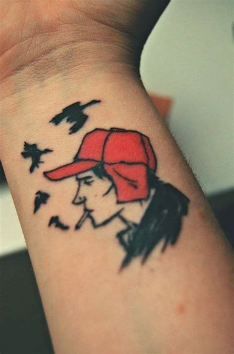 catcher in the rye tattoo the catcher in the rye tattos tattoos