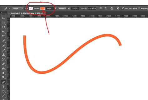 reset pen tool photoshop unable to change color of a shape layer made with pen tool
