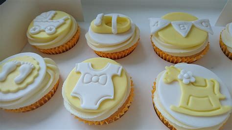 unisex baby shower cupcakes baby shower cupcakes neutral one more cupcake
