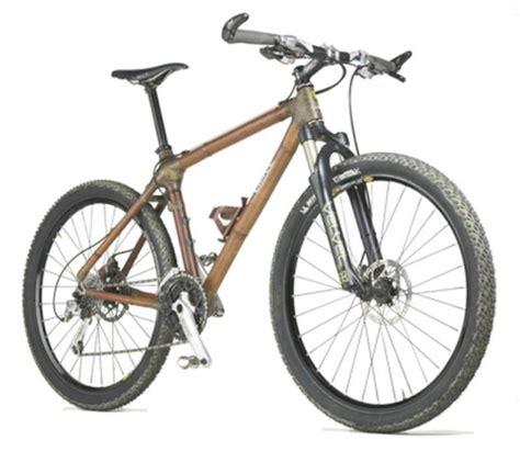 Fahrräder Mountainbike 2009 by Bambus Fahrr 228 Der Calfee Design