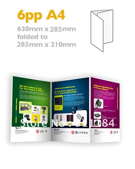 How To Fold Paper Into Brochure - compare prices on brochure paper shopping buy low