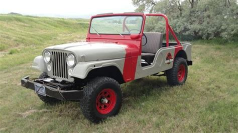 1974 Jeep Cj7 Sell Used 1974 Jeep Cj6 With Jurassic Park Paint Not