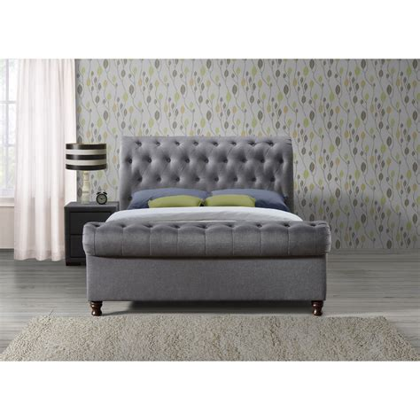 Grey Bed Frame Buy Birlea Grey Bed Frame Big Warehouse Sale