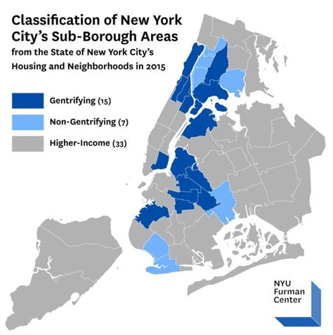 map of areas in nyc map showing new york city s 15 most rapidly gentrifying