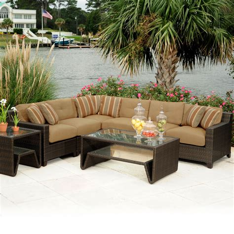 patio couches wicker patio furniture dands