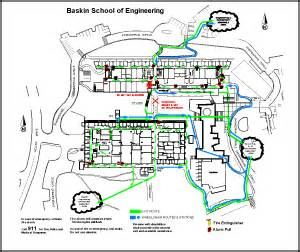 Emergency Exit Floor Plan Template emergency evacuation procedures bsoe facilities