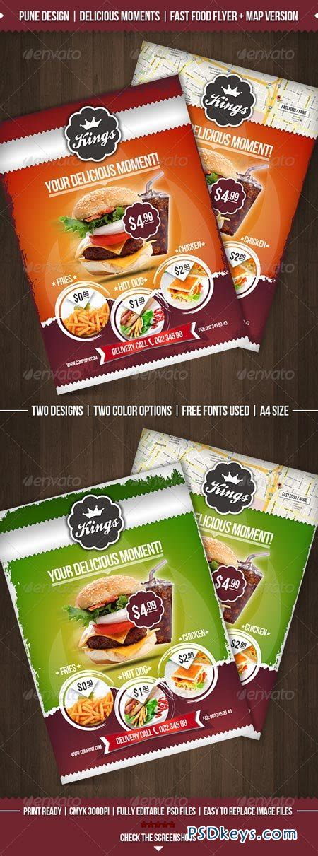 Delicious Moments Fast Food Flyer Template 2348586 187 Free Download Photoshop Vector Stock Image Food Flyers Templates