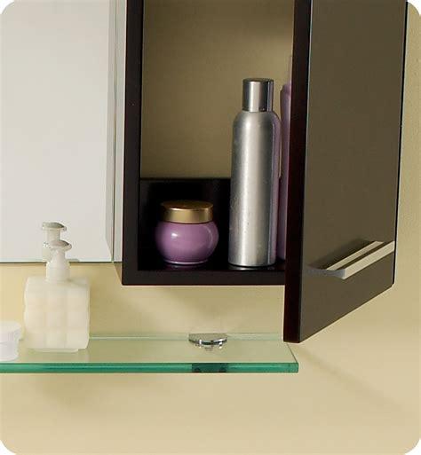 fresca distante espresso modern bathroom vanity w mirror