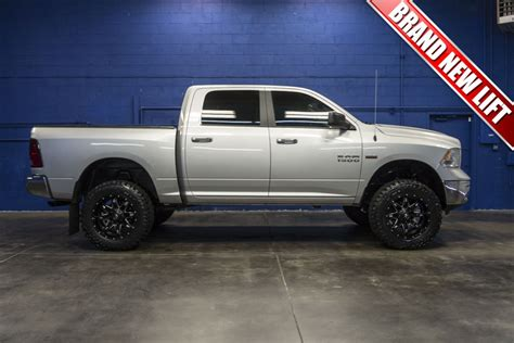Used Lifted 2016 Dodge Ram 1500 SLT 4x4 Truck For Sale   33073