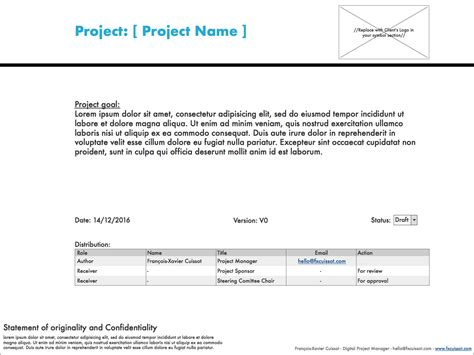 project charter template powerpoint generous charter template gallery resume ideas
