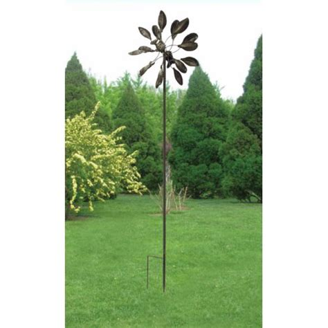 windmill garden country twisted leaves iron yard lawn home