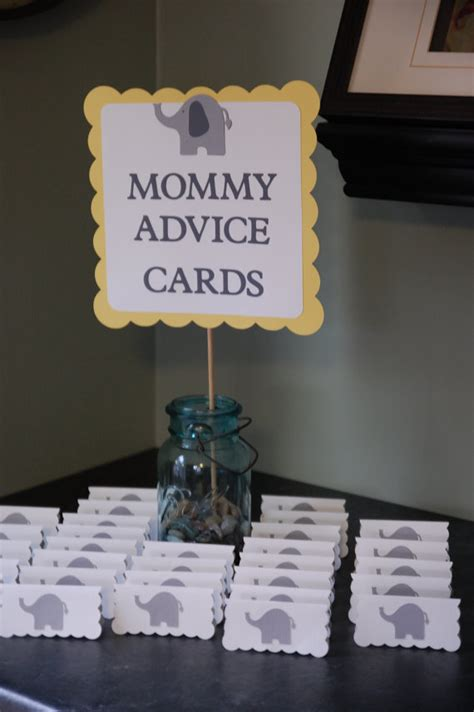 17 best ideas about baby shower advice on pinterest elephant baby shower decorations and party favors baby