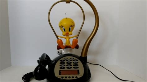 tweety bird phone alarm clock