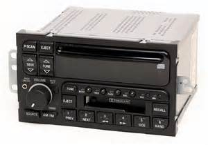 Buick Century Radio Reman Aux Mod Service For 1996 03 Buick Century Lesabre